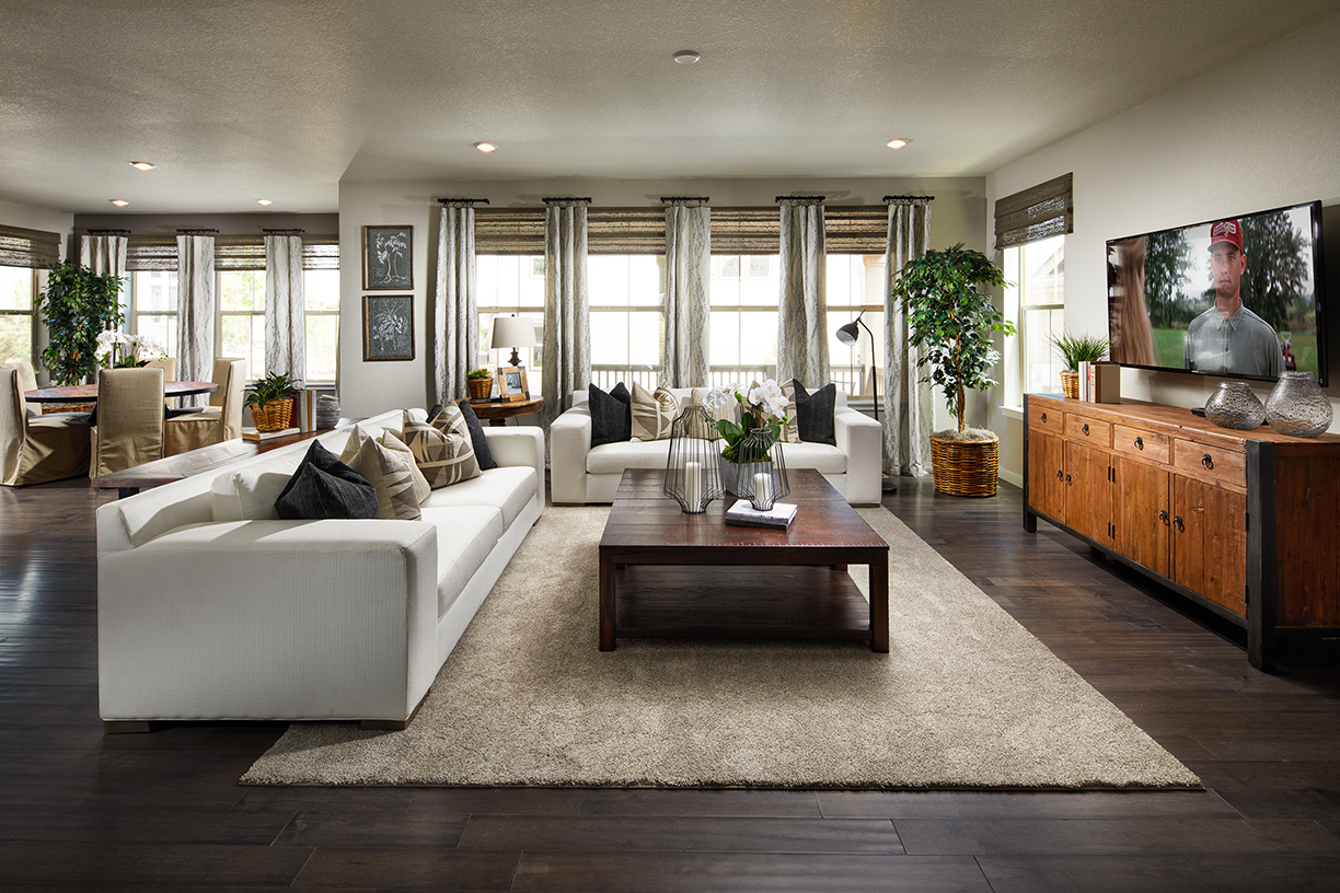 Lennar - Crestone Family Room