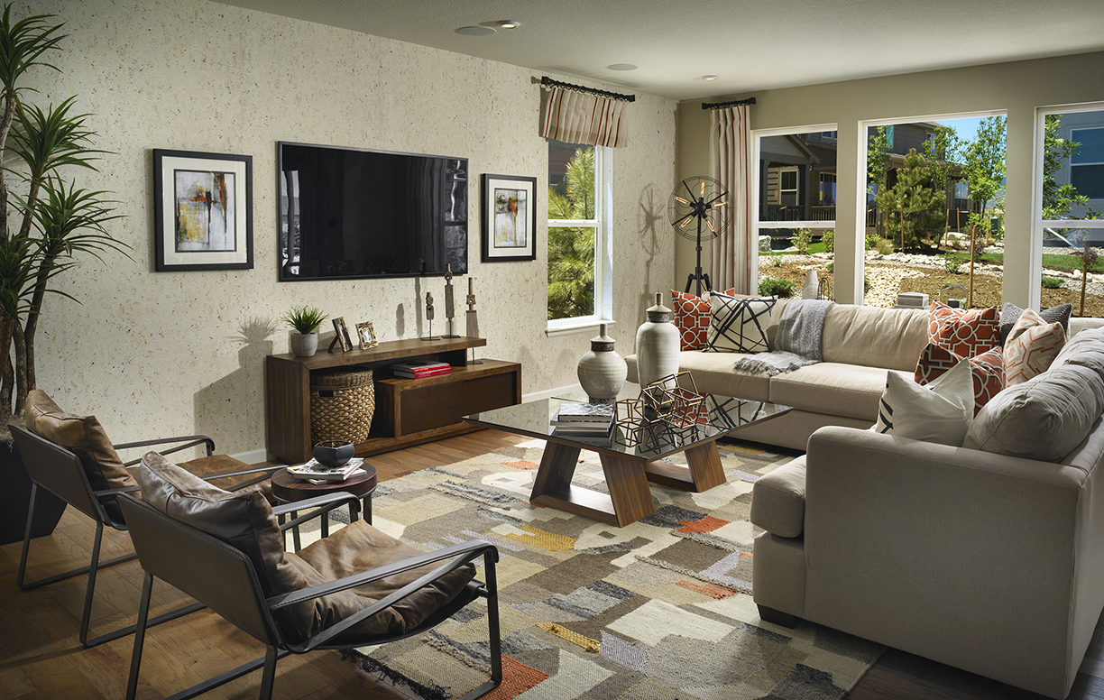 Meritage - Canyon Family Room