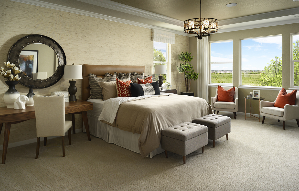 Meritage - Canyon Master Bedroom