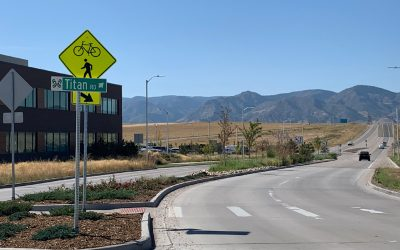 Titan Road Improvements at Sterling Ranch Increase Safety, Beauty and Convenience