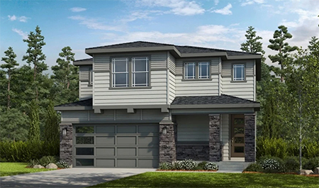 Taylor Morrison Ascent Town Collection Gray Floorplan